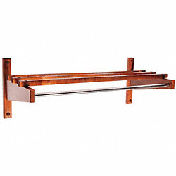 Coat Rack, Wood, 10 1/2 x12 3/4x 36 In.