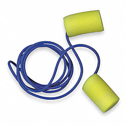 Ear Plugs, 29dB, Corded, Reg, PK200