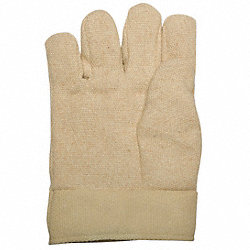 Heat Resist Gloves, Tan, M, Thermonol, PR