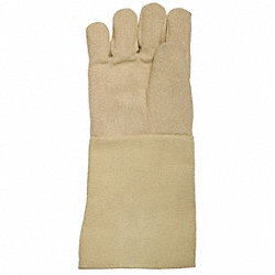 Heat Resist Gloves, Tan, L, Thermonol, PR