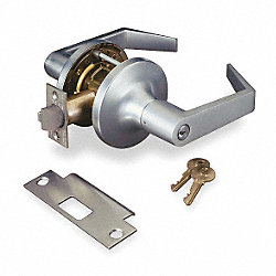 Lockset, Lever, Chrome