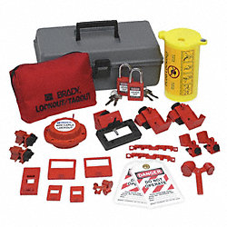PortableLockout Kit, Filled, Electrical, 21