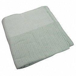 Thermal Blanket, Twin, 66x90 In., Jade
