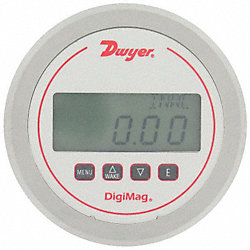 Digital Differential, Flow Gauge, 1 In WC