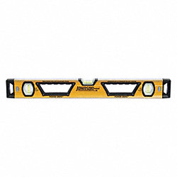 Box Beam Level, Mag, 24 In, Glo-View(R)