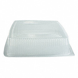 Dome Lid, For Use With 5TNR6, PK 24