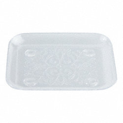 Disposable Tray, 5x5, PK 240