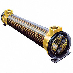 Heat Exchanger, Shell And Tube, 330K BTU