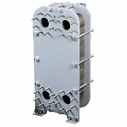 Heat Exchanger, Plate and Frame, 300K BTU