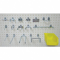 Pegboard Hook Assortment Kit, 26 Pieces
