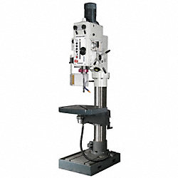Floor Drill Press, 30 In, 3 HP, 230V, PF