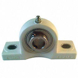 Mounted Brg, Pillow Block, 1 7/16 PBT