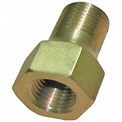 Snubber, Filter, 1/4In NPT, 1500psi, Brass