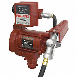 Electric Fuel Pump with Meter