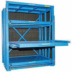 Roll Out Shelving, 3 Shelf, 60x36x88 in. H