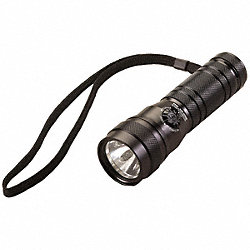Industrial Flashlight, AAA, Black