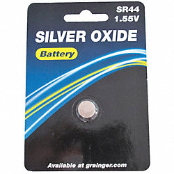 Button Cell Battery, 76, Silver Oxide, 1.5V