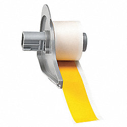 Tape, Yellow, 50 ft. L, 1 In. W