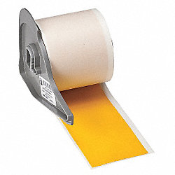 Tape, Yellow, 50 ft. L, 2 In. W