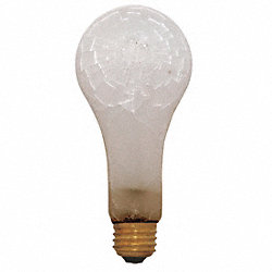 Incandescent Bulb, Safety Coated, A19, 40W