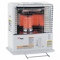 Radiant Convection Heater, 10, 000 BtuH