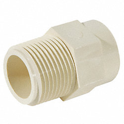 Adapter, 1/2 In, Slip, CPVC