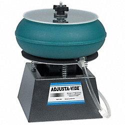 Vibratory Tumbler With Drain, 0.18 Cu.Ft.