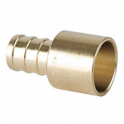 Tubing Adapter, PEXxCopper(Female), 1/2 In