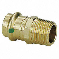 Adapter, 3/4 x 3/4 In, P x MNPT