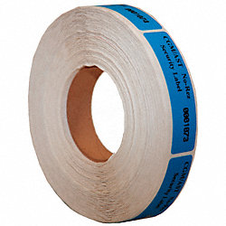 Tamper-Evident Tape, 2 In, 2mil, Blue, PK250