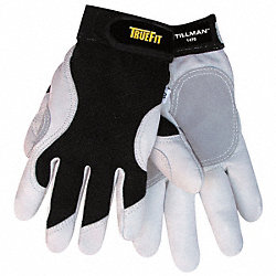 Mechanics Gloves, Black/Pearl, L, PR