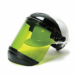 Faceshield with Hard Hat, ArcFlash