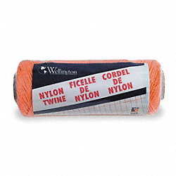 Twine, Nyln, Twisted, .058In. dia., 1050ft L