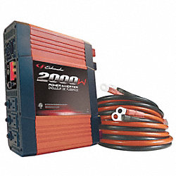 Power Inverter, Watts 2000, 12 Volt
