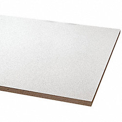 Ceiling Tile, 24 x48 In, 5/8 In T, Pk 8