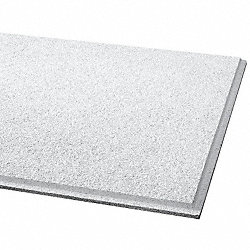 Ceiling Tile, 24 x24 In, 3/4 In T, Pk 12