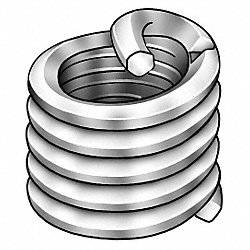 Helical Insert, SS, M8 x 1.25, 12mm L, Pk 10
