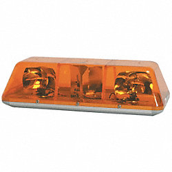 Light Bar, L 5 In, Amber
