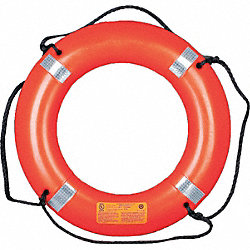 Ring Buoy with Reflective Tape, 30 In