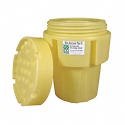 Spill Overpack, Screw Top, 65 Gal