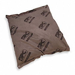 Absorbent Pillow, 17 In. W, Gray, PK 16
