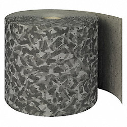 Absorbent Roll, Gray, 25 gal., 15 In. W