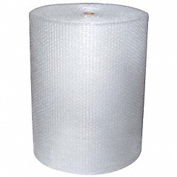 Bubble Roll, 24In. x 125 ft., Clear, PK2
