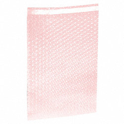 Bubble Bags, A/S, 15-1/2x12 In, Pk 200