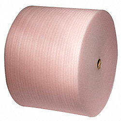 Antistatic Foam Roll, Pink, 6 In. W, PK 12