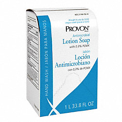 Antimicrobial Soap, Size 1000mL, Amber, PK8