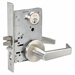 Mortise Lock, Rose , Entrance Office