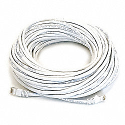 Patch Cord, Cat5e, 75Ft, White