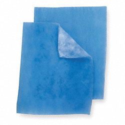 Filter Media Pad, Polyester, 16 In. H