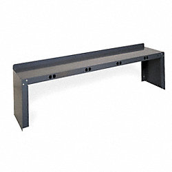 Electrical Shelf Riser, 96Wx15Dx18H, Gray